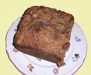 Walnut Date Cake